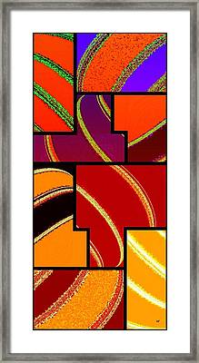 Abstract Fusion 232 Framed Print by Will Borden