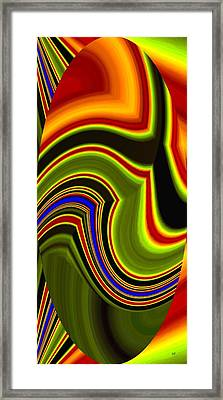 Abstract Fusion 234 Framed Print by Will Borden