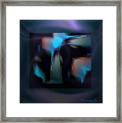 Abstract-g-19 Framed Print