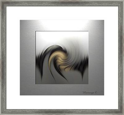 Abstract G-b-g Framed Print