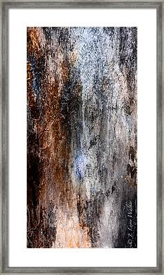 Abstract G - From Series 1 Framed Print by J Larry Walker