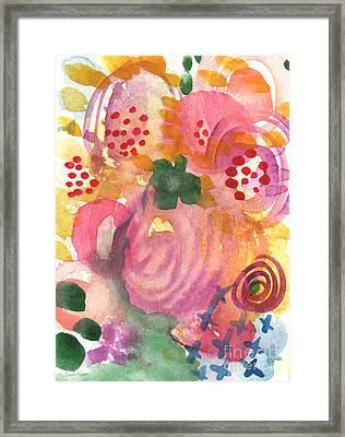 Abstract Garden #44 Framed Print