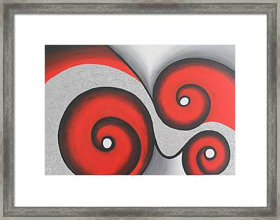 Abstract Geometrical Painting Framed Print