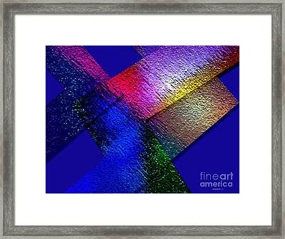 Abstract Geometry Art  Framed Print by Mario Perez