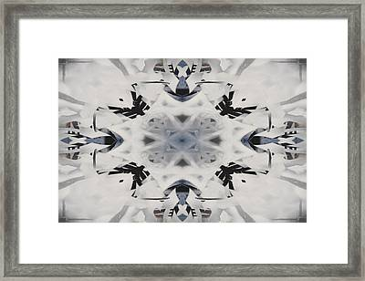 Abstract Graffiti 16 Framed Print