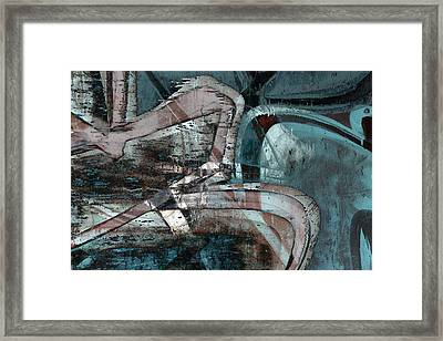 Abstract Graffiti 9 Framed Print