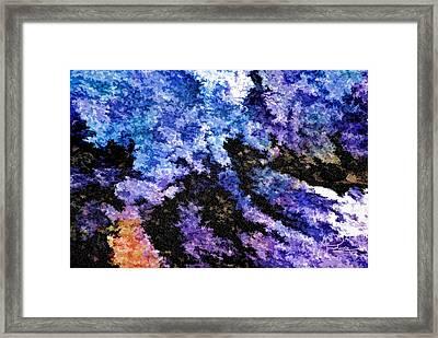 Abstract Granite Framed Print
