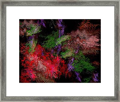Abstract Horizontal Design  Framed Print by Mario Perez