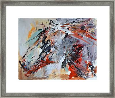 Abstract Horse 1 Framed Print