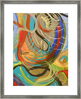 Abstract I Framed Print by Julie Crisan