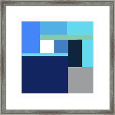 Abstract I Framed Print by Stuart Roy