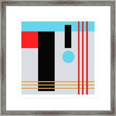 Abstract IIi Framed Print by Stuart Roy