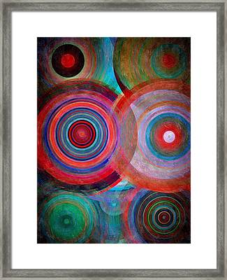 Abstract In Silk  Framed Print