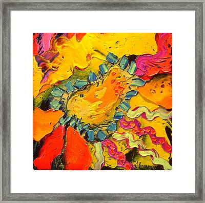 Abstract Framed Print by Isabelle Gervais