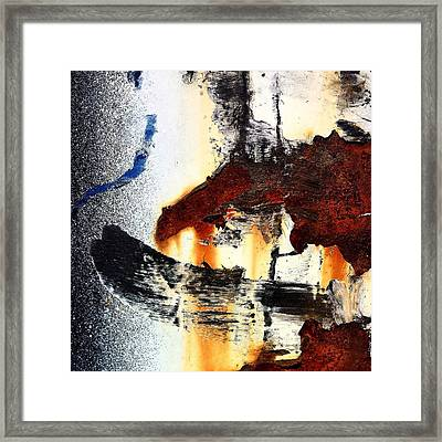 Abstract Post 2 Framed Print