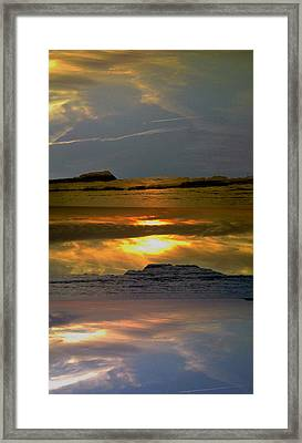 Abstract-just Like Heaven Framed Print