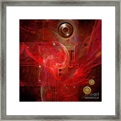 Abstract Lady Framed Print