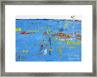 Abstract Landscape No 4 Framed Print
