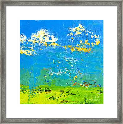 Abstract Landscape No 8 Framed Print