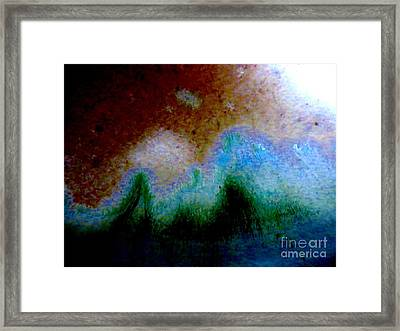 Abstract Landscape Framed Print by Tim Townsend