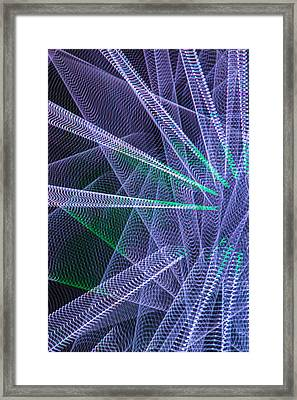 Abstract Lights Number 3 Framed Print