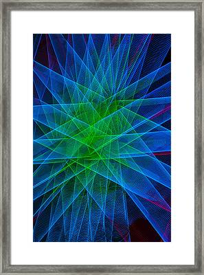 Abstract Lights Number 5 Framed Print