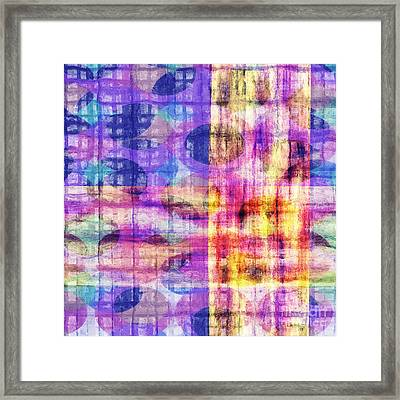 Abstract Lines 21 Framed Print by Edward Fielding