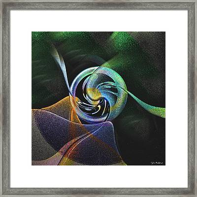 Abstract Llv Framed Print by Tyler Robbins