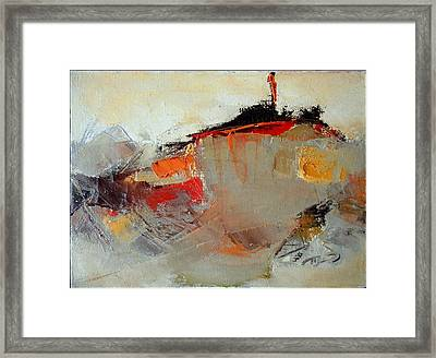 Abstract Lsndscape Framed Print by  Pemaro