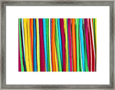 Abstract  Framed Print by Marcia Colelli