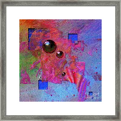 Abstract Messanger Framed Print