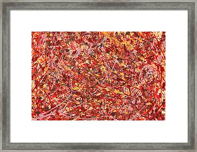 Abstract - Nail Polish - Cosmetically Speaking Framed Print by Mike Savad