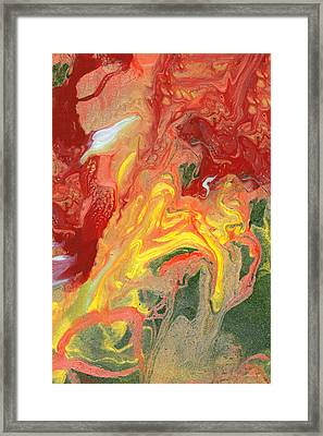 Abstract - Nail Polish - In A State Of Flux Framed Print by Mike Savad