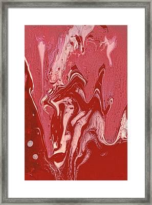 Abstract - Nail Polish - Tongue Framed Print by Mike Savad