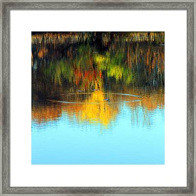 Abstract Nature Framed Print by MPG Artworks