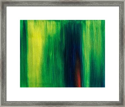 Abstract No 1 Initium Novum Framed Print by Brian Broadway