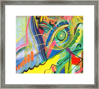 Abstract No. 1 Framed Print by Lynne Rene