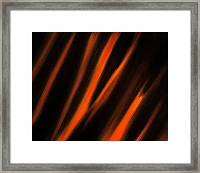 Abstract No 2 Tigris Surrexerunt Framed Print