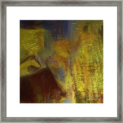 Abstract No. 228 Framed Print by Shesh Tantry