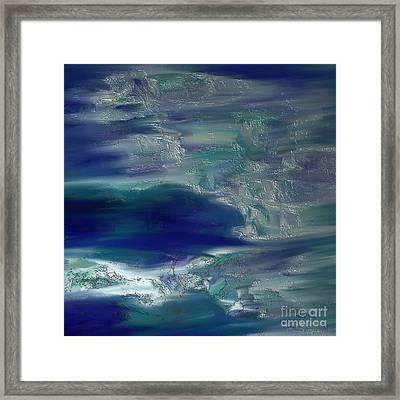 Abstract No. 230 Framed Print by Shesh Tantry