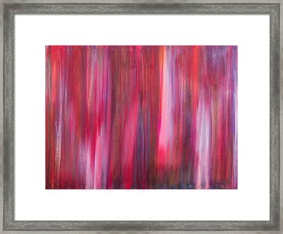 Abstract No 8 Verus Amor Esse Aeternam Framed Print by Brian Broadway
