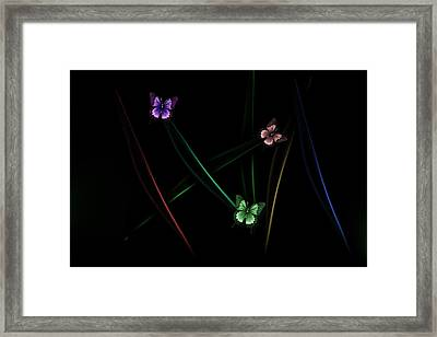 Framed Print featuring the photograph Abstract Noir by Cecil Fuselier