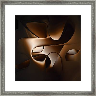 Chocolate - 005 Framed Print