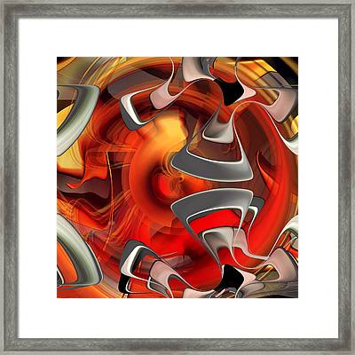 Abstract Number 009  Framed Print