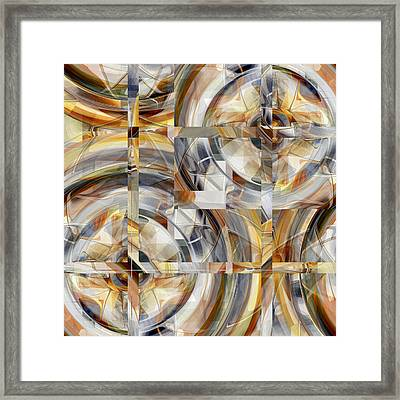 Balanced - 031 Framed Print
