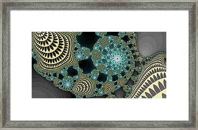 Abstract Number 9  Framed Print by James Hammen