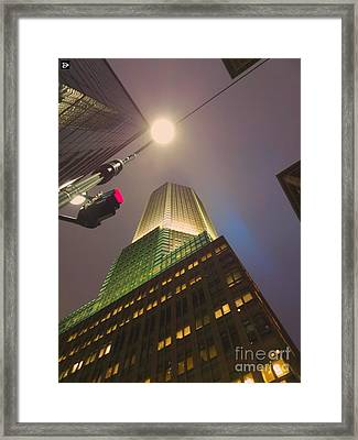 Abstract Ny Framed Print