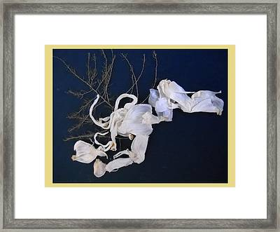 Abstract On-distress Framed Print by Basant Soni