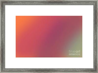 Abstract And Polychromatic Background 1 Framed Print by Enrique Cardenas-elorduy