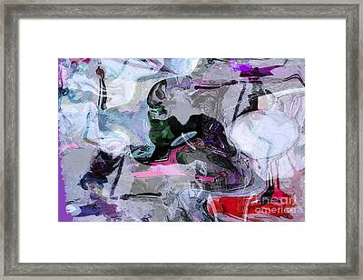 Abstract Organic Intuitive # 11 Framed Print by Ginette Callaway